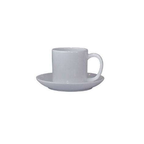 Tazas con plato,para impresión full color