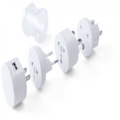 Adaptador enchufes tribox