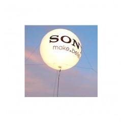Globo de helio con logo