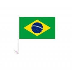 Bandera de auto de diferentes paises Brasil  (Argentina - Holanda - Italia - Espa–a