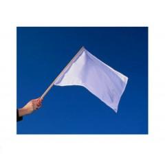 Bandera blanca lisa para estampar tama–o 35 x 56