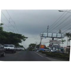 Vallas publicitarias en Santa Elena (Cara A )