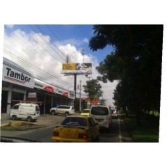 Espacios publicitarios en Santa Elena(Cara B)