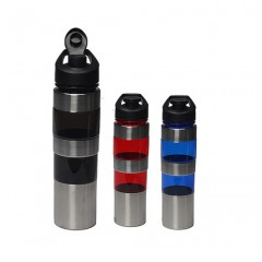Botella deportiva de acrilico con acero de 24 oz