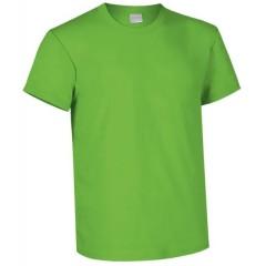 Camiseta de algodon, marca lacroosse, cuello redondo