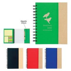 Cuaderno espiral reciclado