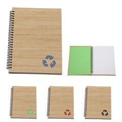 Cuaderno espiral de bamboo