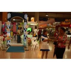 Activación de  campaña btl   en la terminal de albrook  en plaza  de comida norte