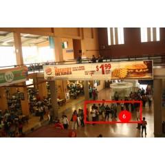Activación de  campaña btl  en la terminal de albrook  en plaza de comida sur