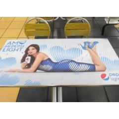 Publicidad en albrook (mesas del foot court)