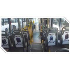 Publicidad movil (sillas-16 caras por bus)