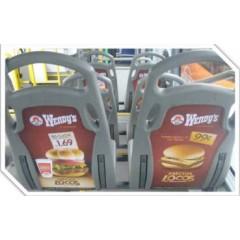 Publicidad movil (sillas-8 caras por bus)