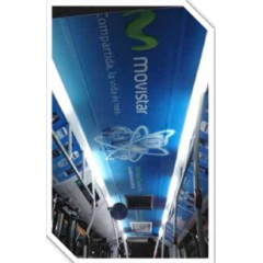 Publicidad móvil (techos central bus)