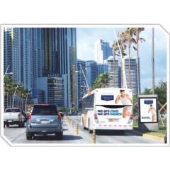 Publicidad móvil (luneta trasera del bus)