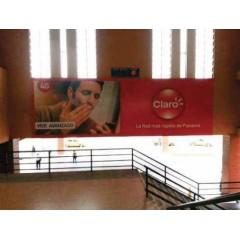 Vallas publicitarias terminal albrook (escalera hacia la Plaza de Comida Norte)