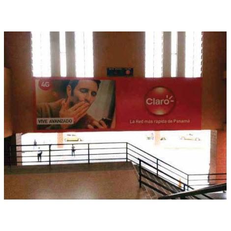 Vallas publicitarias(Escalera hacia la Plaza de Comida Norte)