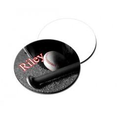 Mousepad de tela para sublimacion, redondo de 8 diametro base de caucho