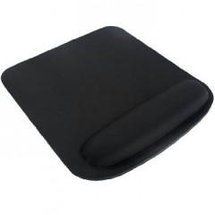 Mouse pad de tela, cuadrado, con apoya muñeca. superficie de tela