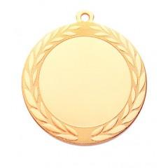 Medalla redonda de metal 1