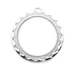 Medalla redonda de metal 2