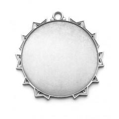 Medalla redonda de metal 5
