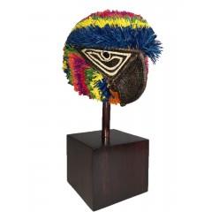 Máscaras artesanales Embera