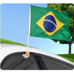 Circulo plastico para bandera de autos