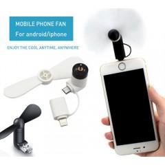 Abanico eléctrico para celular