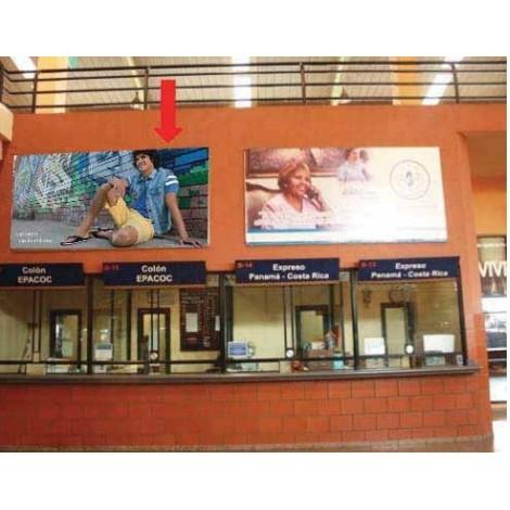 Vallas publicitarias terminal albrook (boleteria b15,16)