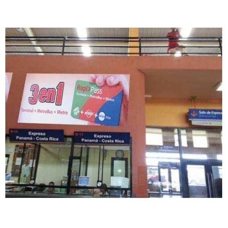 Vallas publicitarias terminal albrook (boletería b13,14)
