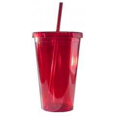 Tumbler roja, personalizados full color