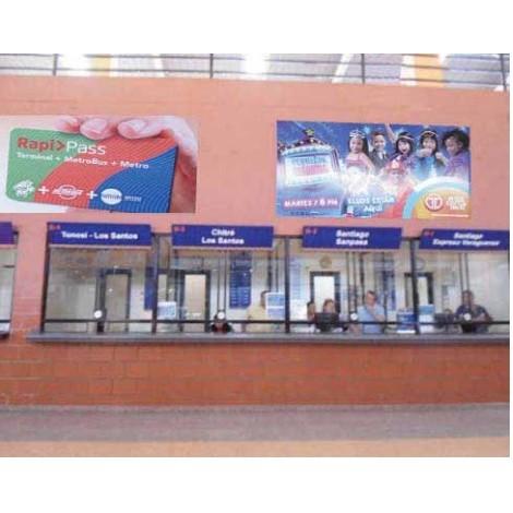 Vallas publicitarias terminal de albrook (boletería b01,02)
