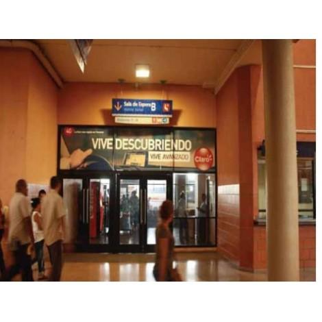 Vallas publicitarias terminal de albrook (puerta sala de espera B1)