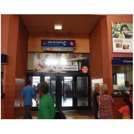 Vallas publicitarias terminal de albrook (puerta sala de espera C1)