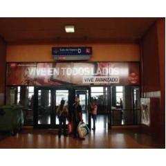 Vallas publicitarias terminal de albrook (puerta sala de espera D2)