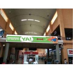 Vallas publicitarias terminal de albrook (puente 4/1 area sur L17,18,19)