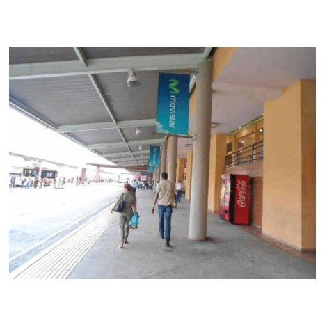 Vallas publicitarias terminal de albrook (banderas area urbana)