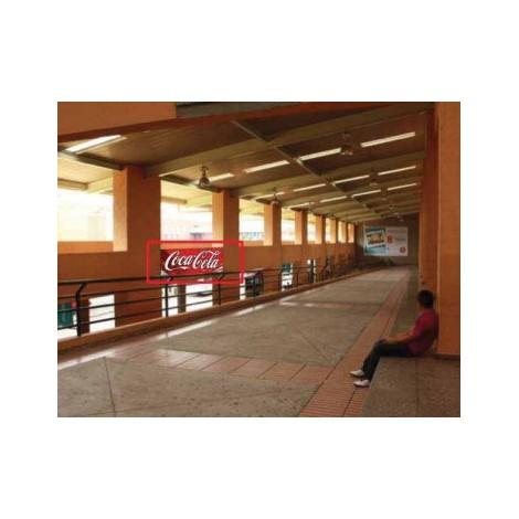Vallas publicitarias terminal de albrook (rampa de llegada parte lateral sur)