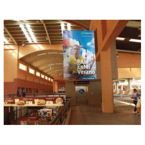 Vallas publicitarias terminal de albrook (elevador parte superior area norte)